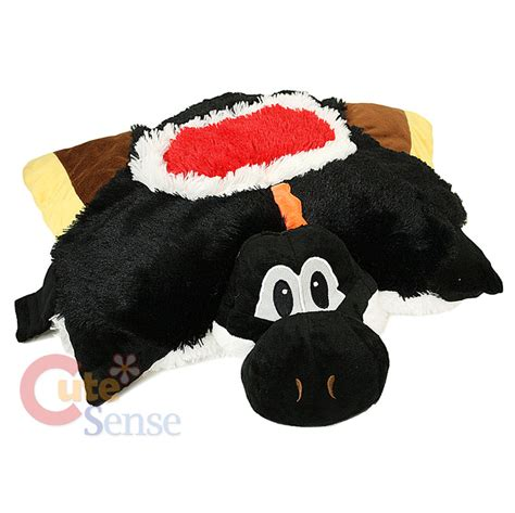 mario black yoshi pillow pet pillow pad