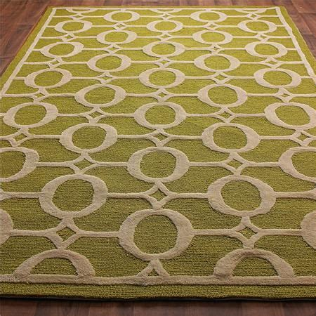 Outdoor Rug Cheap Indoor Outdoor Carved Ellipse Rug Available In 5 Colors Crisp Aqua Citron Apple Green