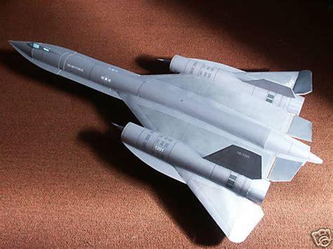 How To Make A Paper Sr 71 Blackbird That Flies - sr71 paper card stock rc jet wattflyer contest 3