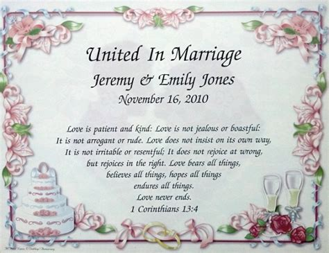 Wedding Poems by The Wedding Vows That You And Your Partner Will