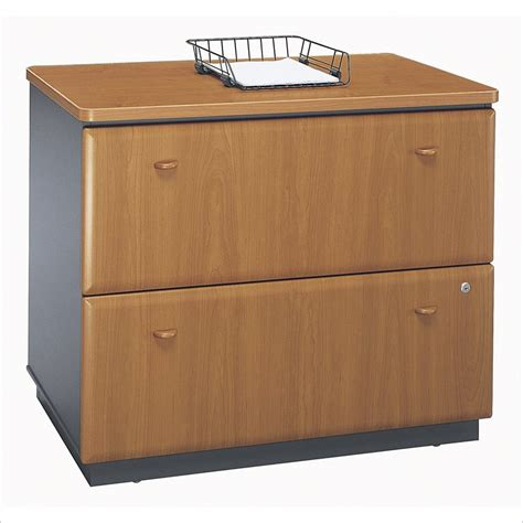 Bbf Series A 36w 2dwr Lateral File Filing Cabinet Ebay 2 Drawer Filing Cabinet Wood