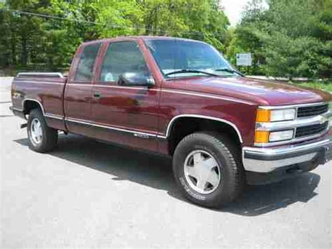 automobile air conditioning repair 1999 chevrolet silverado 1500 electronic valve timing purchase used 1999 chevy silverado 4x4 z71 extended cab pickup truck 86k miles 3rd door mint in