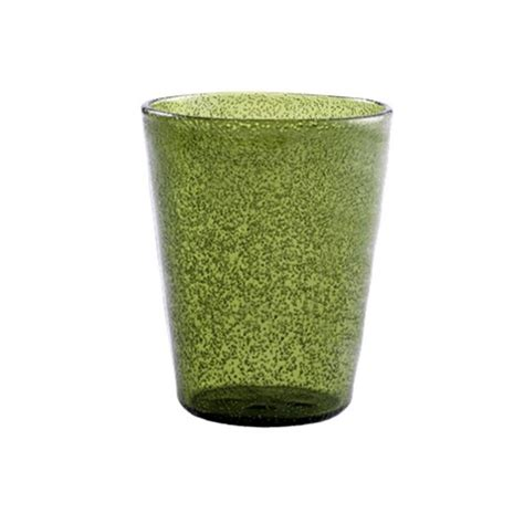 Bicchieri In Vetro Soffiato Memento Bicchiere In Vetro Soffiato Oliva Forme E Colori