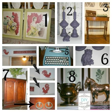 thrifty home decorating blogs thrifty treasures part 1 diy show off diy