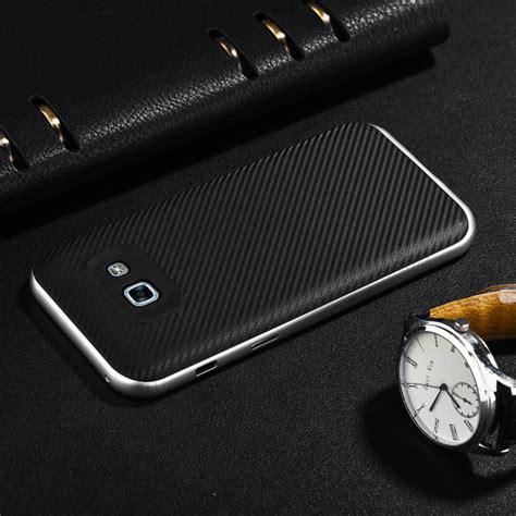 Fs Soft Metalic Samsung Galaxy A3 2017 Back Cover Softshell carbon fiber pc tpu back phone for samsung galaxy a3