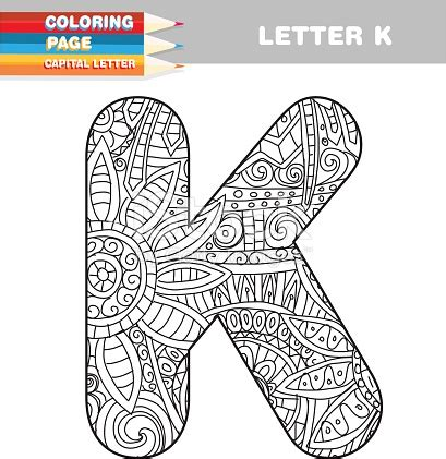 coloring pages for adults letter k i loved the flower fairies as a child this is letter k