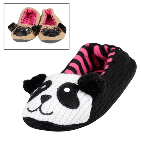pug slippers for adults novely animal panda pug ballet slippers
