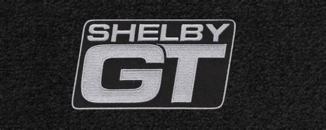 custom fit mats with logos for all mustang and shelby cars