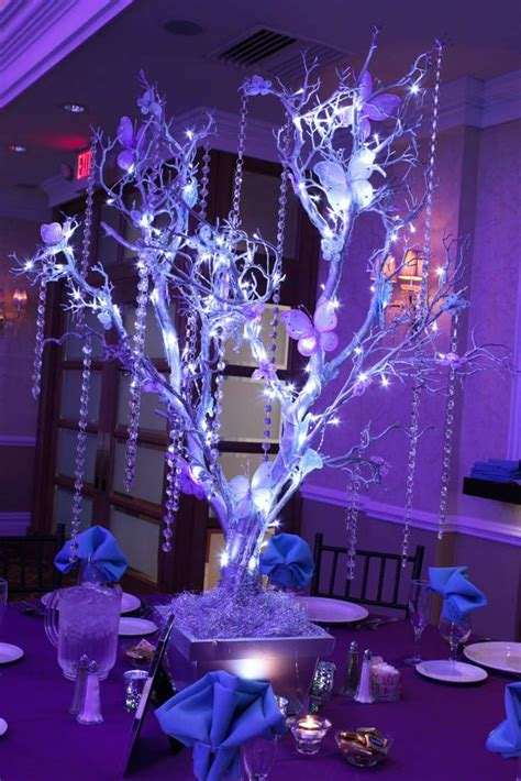 led branches centerpieces 1014 best centerpieces bring on the bling crystals