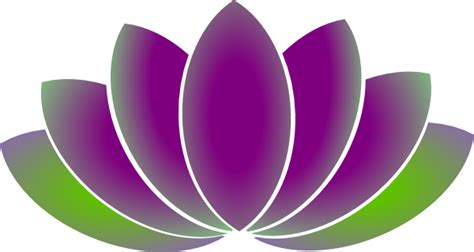 Lotus Flower Png Lotus Flower Clip At Clker Vector Clip