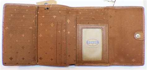 Fossil Marlow Zip Coin Wallet In Chestnut fossil marlow multifunction chestnet tri fold wallet and coin purse leather dragonfly whispers