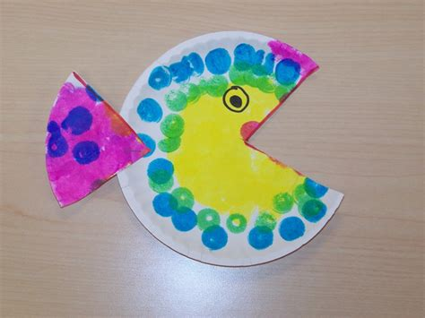 Fish Paper Plate Craft - my montessori journey paper plate fish