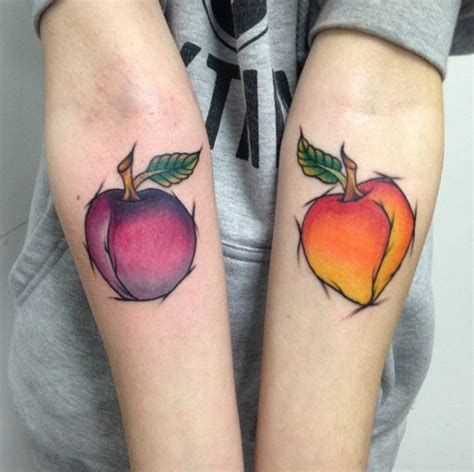 peach tattoo designs 30 cool sketch style tattoos amazing ideas
