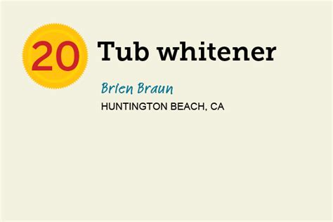Bathtub Whitener by Tub Whitener 27 Reader Tips That Save Time And Money