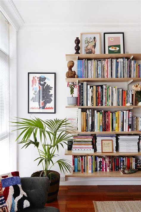 bookshelves living room tristan ceddia and adriana giuffrida the design files