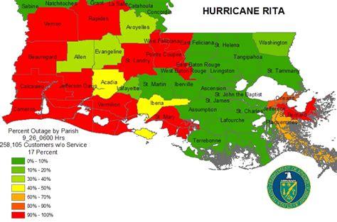louisiana hurricane map iser gulf coast hurricanes