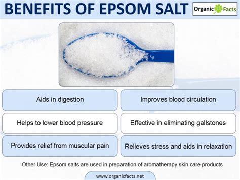 Soaking In Bathtub Benefits by Epsom Salts 8 Amazing Benefits Uses Organic Facts