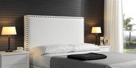 cabeceros de cama piel cabecero tachuelas canapi