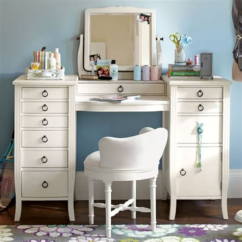 large bedroom vanity chic vanity pbteen