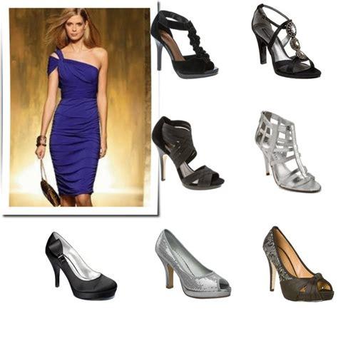 purple evening wear shoes dresses