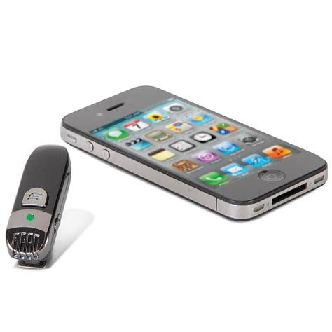 the wireless iphone microphone hammacher schlemmer