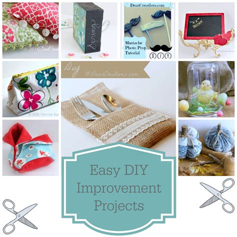 easy simple diy crafts easy diy improvement projects