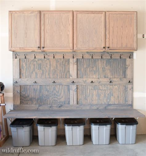 mudroom ideas diy 36 diy ideas you need for your garage diy