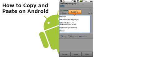 copy and paste on android duplicate without a real keyboard how to copy and paste on android