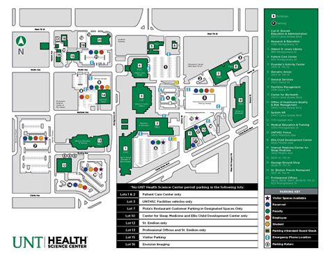 unt parking map unt cus map 2015 calendar template 2016