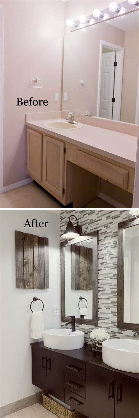 Easy Bathroom Makeovers by Before And After 20 Awesome Bathroom Makeovers Hative
