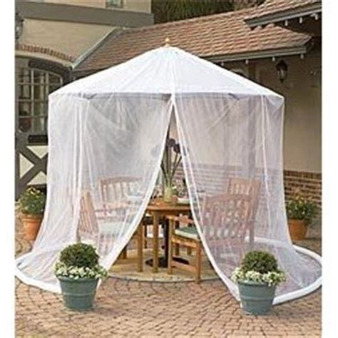 Patio Umbrella Mosquito Net Patio Umbrella Mosquito Net By Simple Diy Solutions