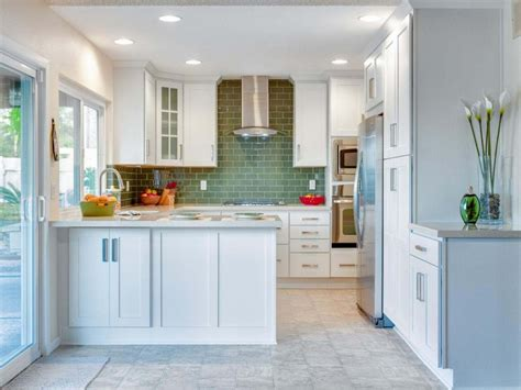 Idea For Small Kitchen What Color To Paint A Small Kitchen To Make It Looks Bigger Home Design