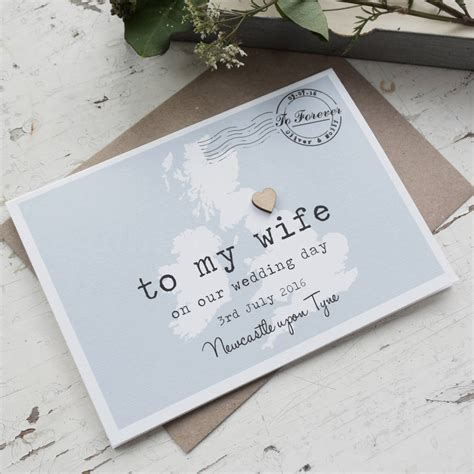 On Our Wedding Day Card