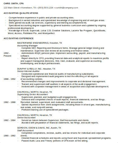 Staff Accountant Resume by 9 Sle Staff Accountant Resumes Sle Templates