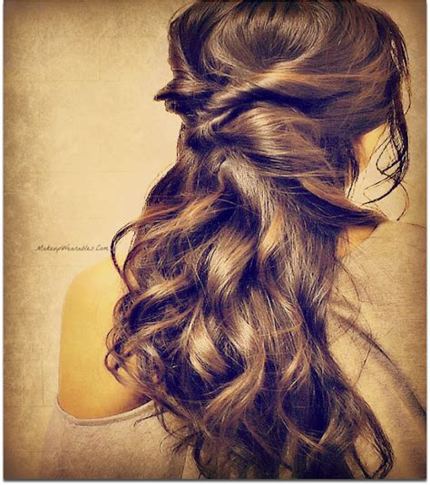 easy hairstyles long hair down how to french braid your own hair hairstyles tutorial video