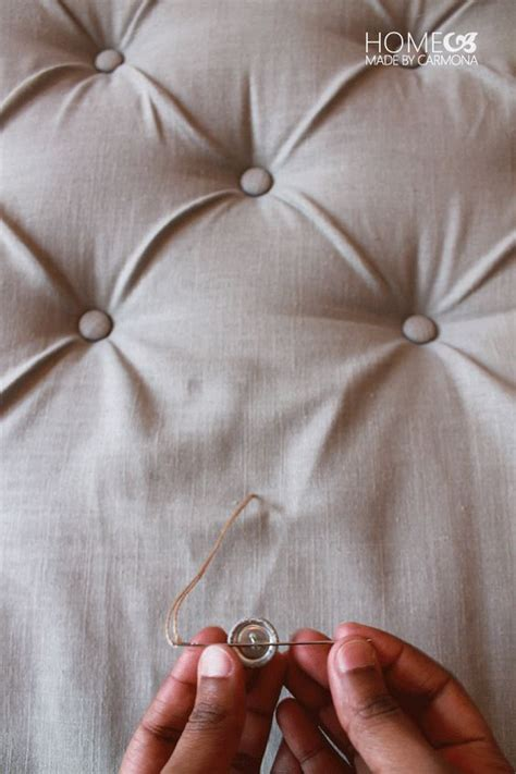 how to make your own headboard with buttons pinterest the world s catalog of ideas