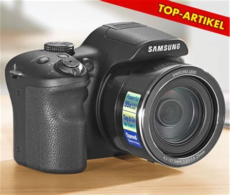 Kamera Samsung Wb 1100 kaufland 15 6 2015 samsung wb1100f bridge reisekamera im