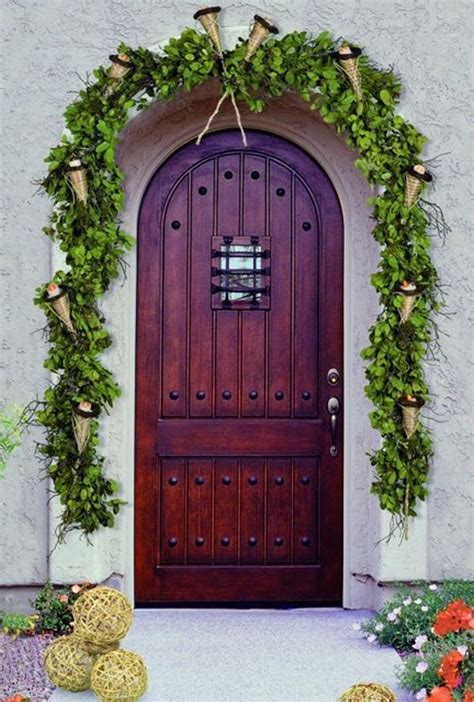 Front Door Website How To Decorate Your Front Door For The Holidays The Lovely Look Of Simple Festivity