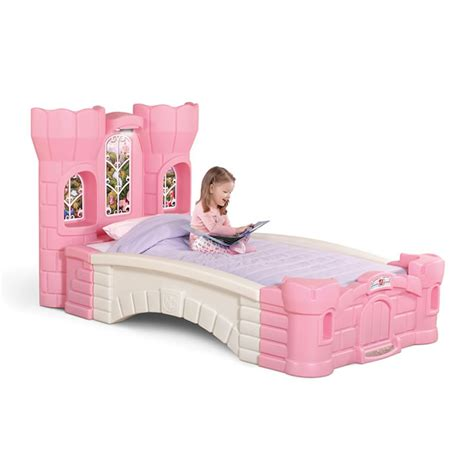 kid beds princess palace twin bed kids furniture by step2