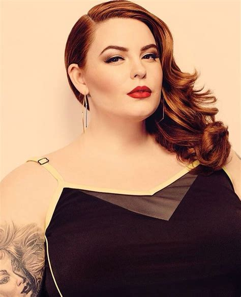 plus size tattoo models 407 best tess munster