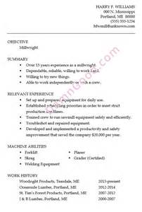Sample Millwright Resume resume sample millwright damn good resume guide