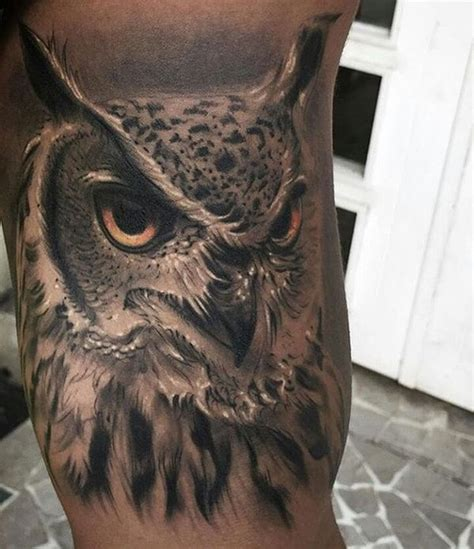 owl tattoos for men 51 owl tattoos ideas best designs with meaning