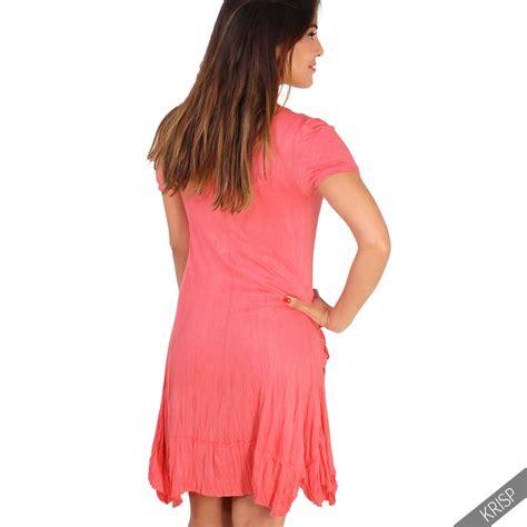 3in1 Set damen 3in1 set tunika kleid mit top und halskette mini