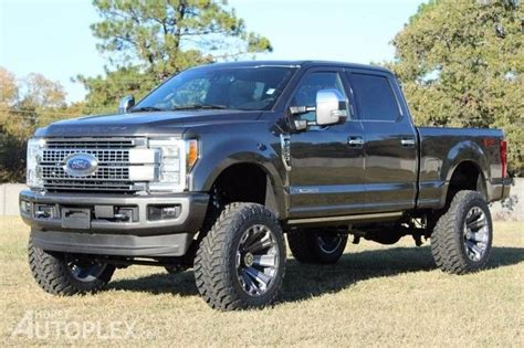 Ford F250 Lifted by 2017 Ford F250 Platinum Lifted