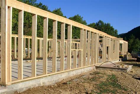 Schema Mur Ossature Bois 4480 by Montants Murs D Une Maison Ossature Bois Maisons