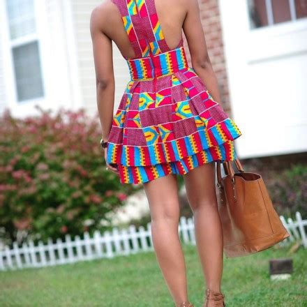 fabulous modern ways  wear african fabric bglh