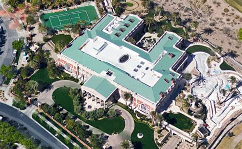 Mansion Floorplans by Aerial Pics Of Billionaire Sheldon Adelson S 44 000 Square
