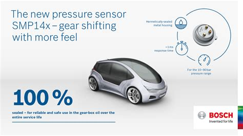 Comfort Driving Portal by Bosch Hydraulic Pressure Sensor Smp14x Improves Driving