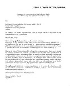 cover letter outlines sle outline 15 exles in pdf word ppt