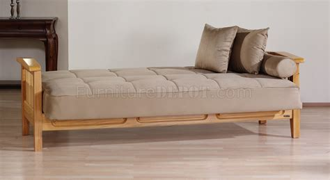 sectional recliner sofa with sleeper beige microfiber beige microfiber living room w wooden frame storage